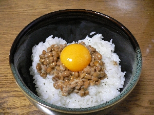 納豆 卵 かけ ご飯